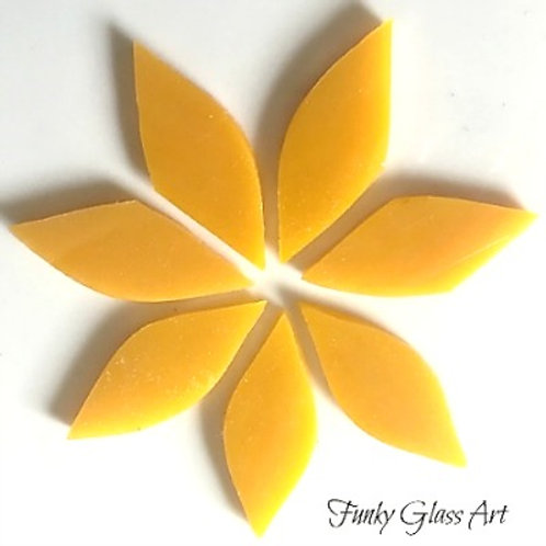 Stained Glass Small Petals -Mango Nectar