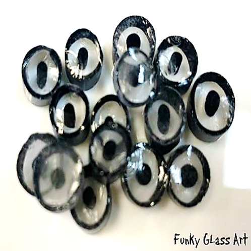 Black Clear Bulleyes