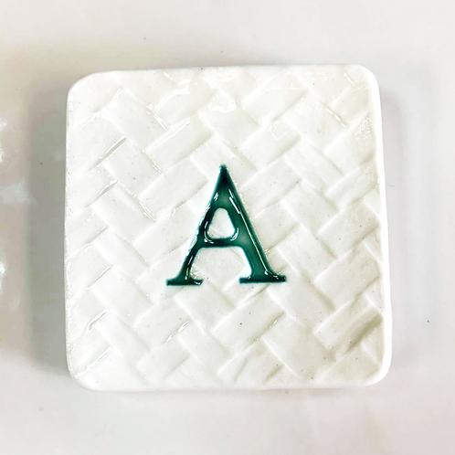 Ceramic Letter A