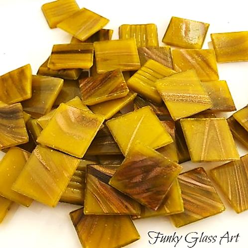 GoldlinkTiles - Mustard - 20x20x4mm