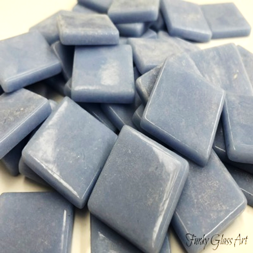 Glass Squares 23x23 - Powder Blue