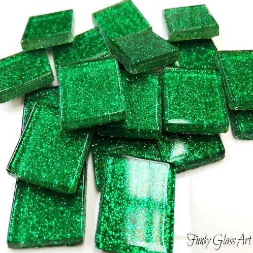Glitter 23x23 Emerald