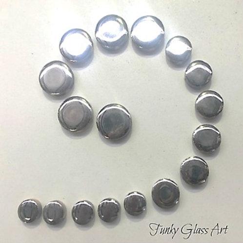 Ceramic Disc - Silver