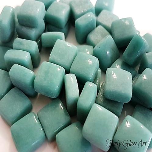 Glass Squares 12x12 - Spearmint Green
