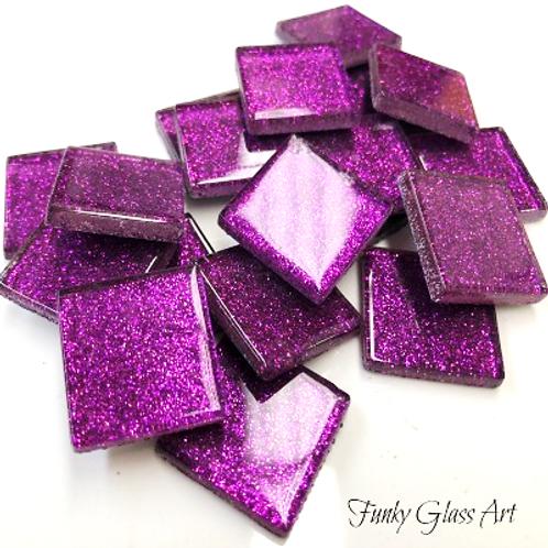 Glitter 23x23 Grape