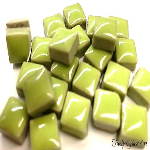 Ceramic 10x10 Lime Green