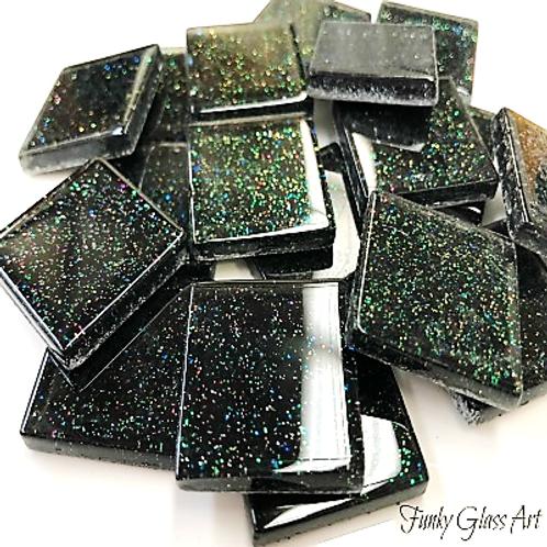 Glitter 23x23 Black