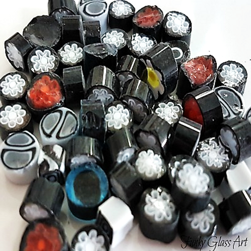 Millefiori - Lava Black Mix