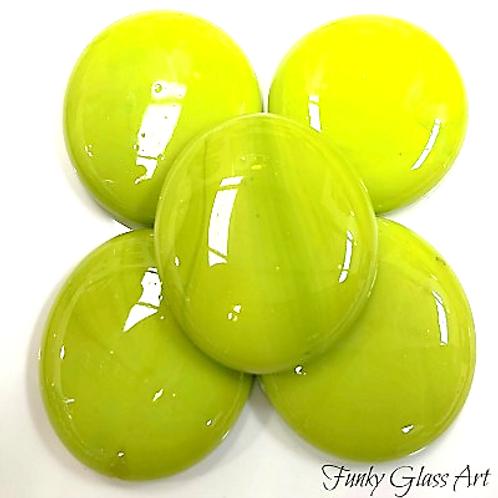 XXL Glass Gems -Kiwi