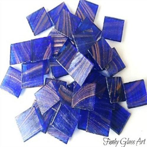 GoldlinkTiles - Cobolt Blue - 20x20x4mm