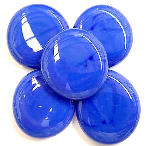 XXL Glass Gems -Blue