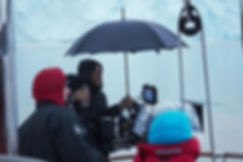 peter madej filming on the sailing yacht