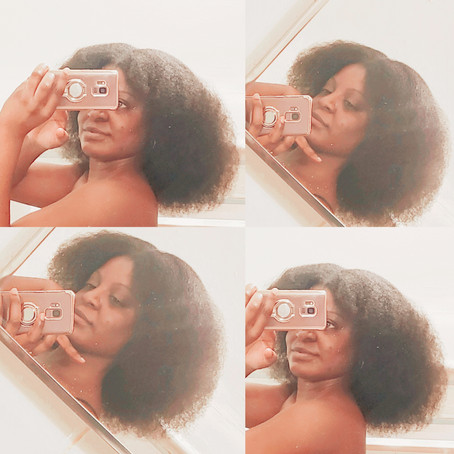 FIVE YEAR NATURAL HAIR ANNIVERSARY