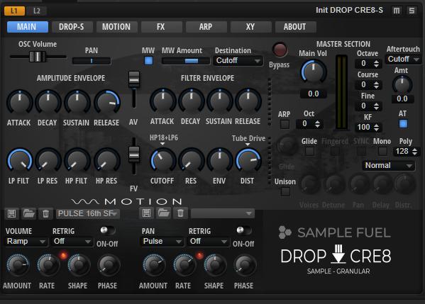 DROP CRE8 Main Page