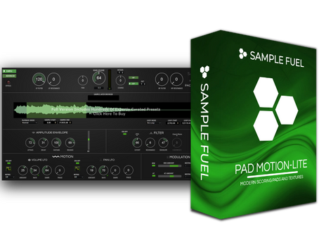 PAD MOTION-LITE - FREE Sample and Granular Based Library Instrument Released