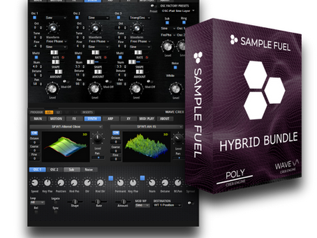 POLY, WAVE and THE HYBRID BUNDLE 1.5 FREE UPDATE
