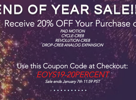SAMPLE FUEL - 'END OF THE YEAR' SALE STARTS NOW! 20% OFF EVERYTHING ENDS JANUARY 7th