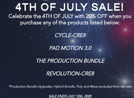 SAMPLE FUEL - OUR '4TH OF JULY' SALE STARTS NOW! 20% OFF SELECT PRODUCTS! ENDS JULY 12th