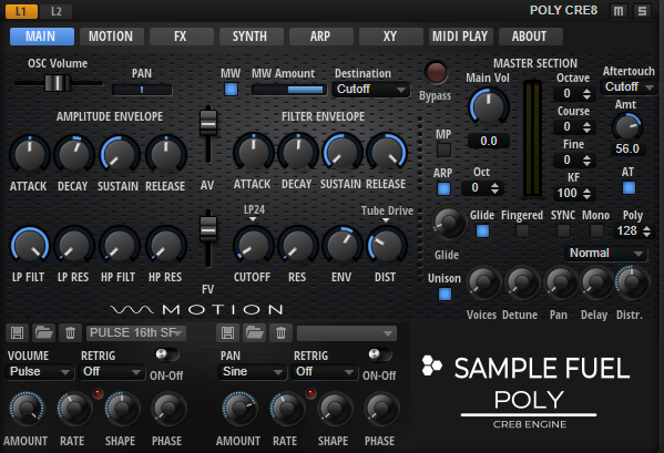 Sample Fuels Poly Synth   VI-CONTROL