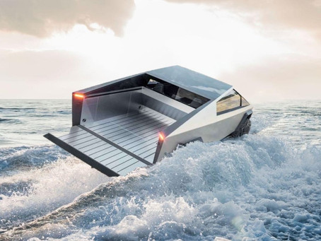 Amphibious Tesla CyberTruck?