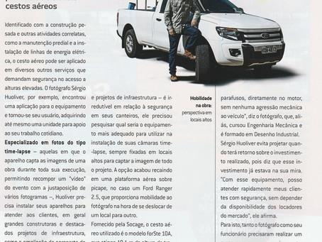 """Matéria com especialista em Cesta Aérea Jacques Chovghi Iazdi """" Em busca da melhor imagem."""""""