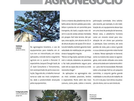 Caso de sucesso com Cesta Aérea no agronegócio no Brasil com Jacques Chovghi Iazdi na Revista Crane