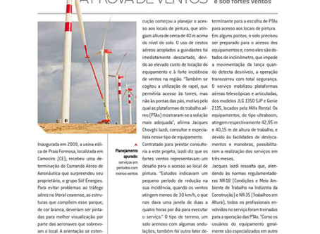 Matéria com especialista em Plataforma de Trabalho Aéreo no Brasil.
