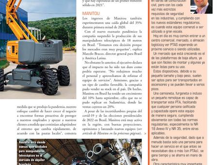 Historia con Jacques Chovghi Iazdi en la Revista Construção Latino Americana - KHL - Noviembre 2020.