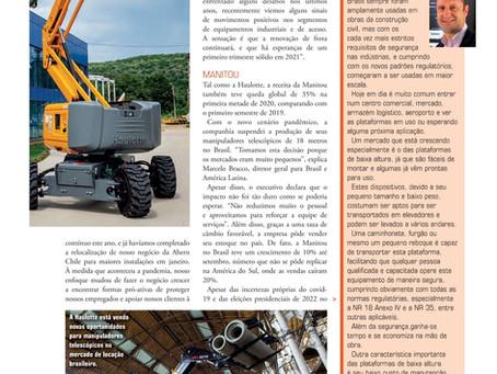 Matéria com Jacques Chovghi Iazdi na Revista Construção Latino Americana - KHL - Novembro de 2020.
