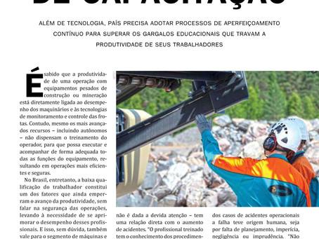 Matéria com Jacques Chovghi Iazdi na Revista M&T - Sobratema.