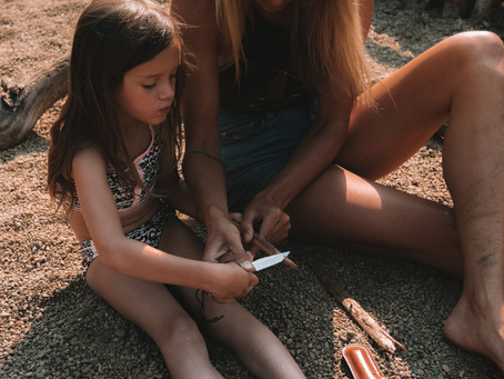 Primitive Skills with Kids: Intro to Whittling