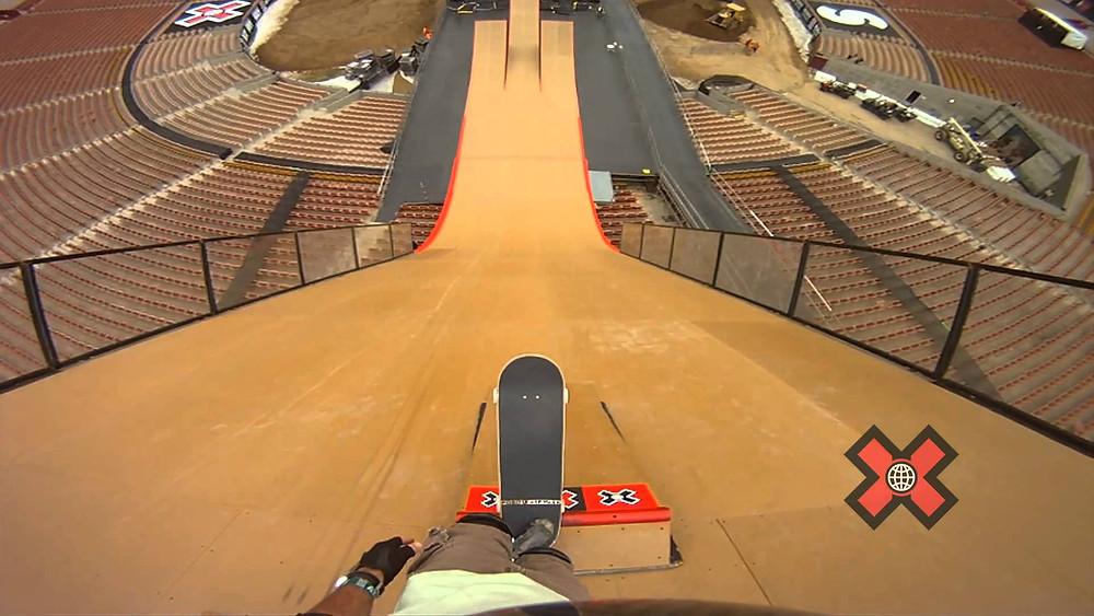X Games Big Air Skateboarding