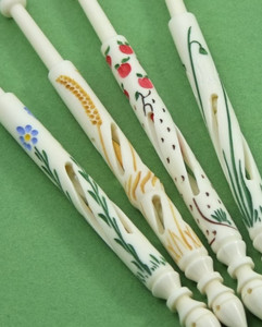 Four Seasons Set by A R Archer Ltd - Finest Quality Bone Lace Bobbins