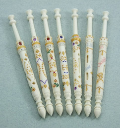 Royal Bobbins - by A R Archer Ltd - Finest Quality Bone Lace Bobbins