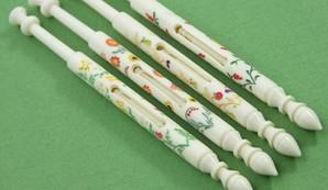 Sweet Seasons Set by A R Archer Ltd - Finest Quality Bone Lace Bobbins