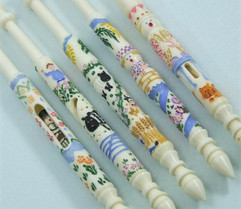 Nursery Rhymes Bobbins by A R Archer Ltd - Finest Quality Bone Lace Bobbins