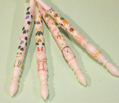 Wild Beasts by A R Archer Ltd - Finest Quality Bone Lace Bobbins