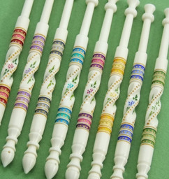 Gypsy Jewels Set by A R Archer Ltd - Finest Quality Bone Lace Bobbins