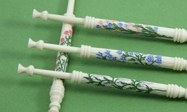 Columns Set by A R Archer Ltd - Finest Quality Bone Lace Bobbins