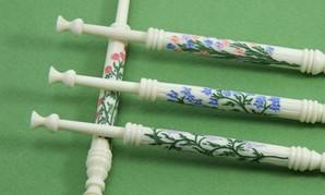 Columns Set by A R Archer Ltd - Finest Quality Bone Lace Bobbins