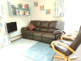 Reclining sofa and Netflix