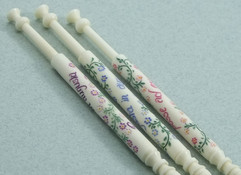 Inscribed Bobbins by A R Archer Ltd - Finest Quality Bone Lace Bobbins