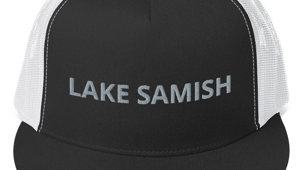 Lake Samish Trucker Hat