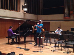 Performing with Joshua Redman