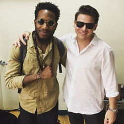 Backstage with Corey Henry