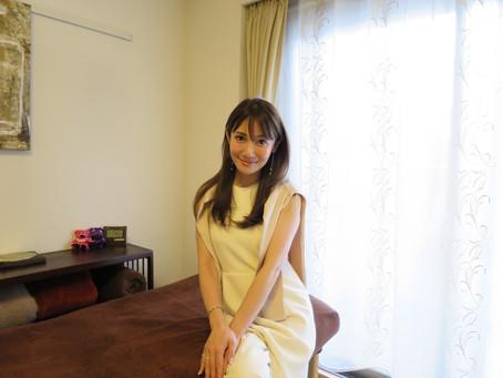 読者モデル/ファッションプロデューサーの吉田美紀さんがご来店されました✨