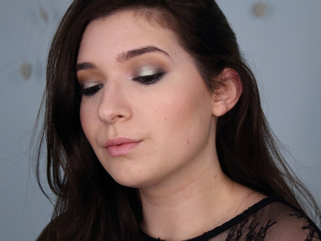 Green&Brown Makeup Look