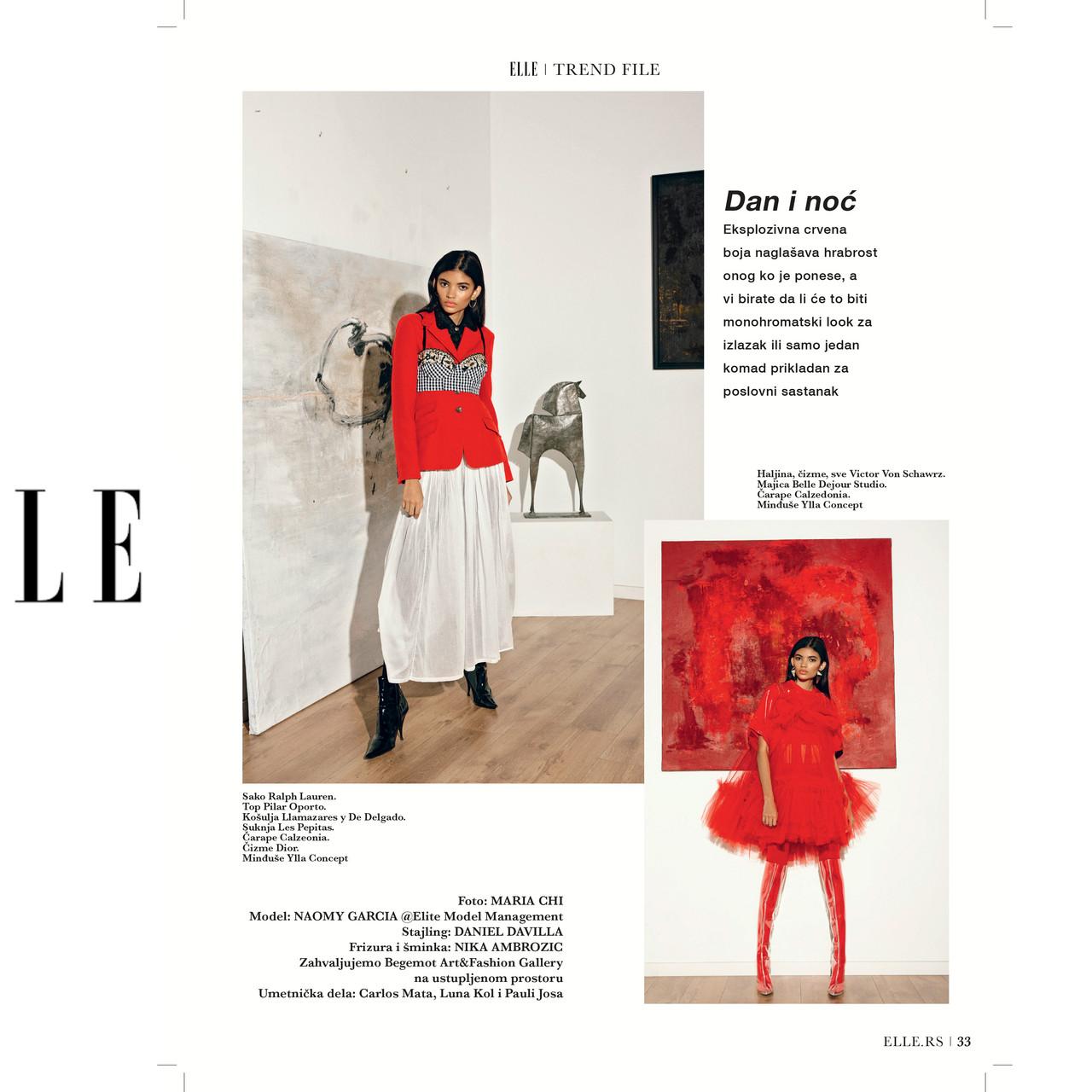 Elle Magazine Serbia. Feb'20 (Pag33)
