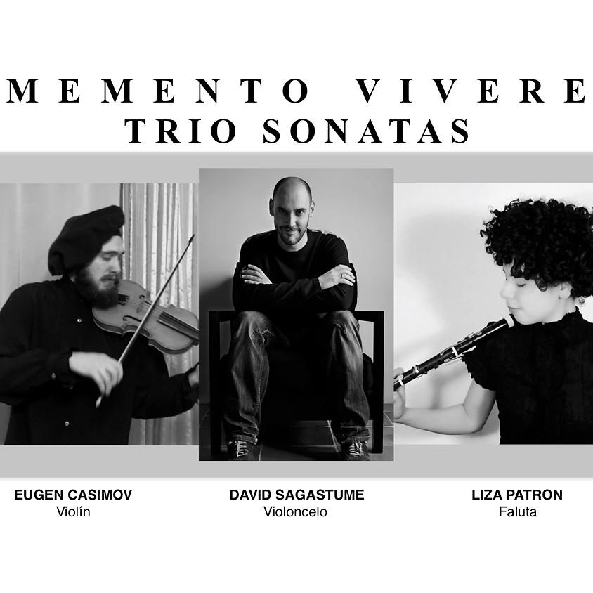MEMENTO VIVERE: Trío Sonatas