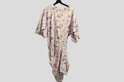 Miro Misljen - Purple Flower Wide Dress